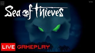 Sea of Thieves Gameplay 🔴 LIVE 💀 Skeleton Thrones ✅ Join me PC  Xbox 📊Review 👑 KingBong 420 💚