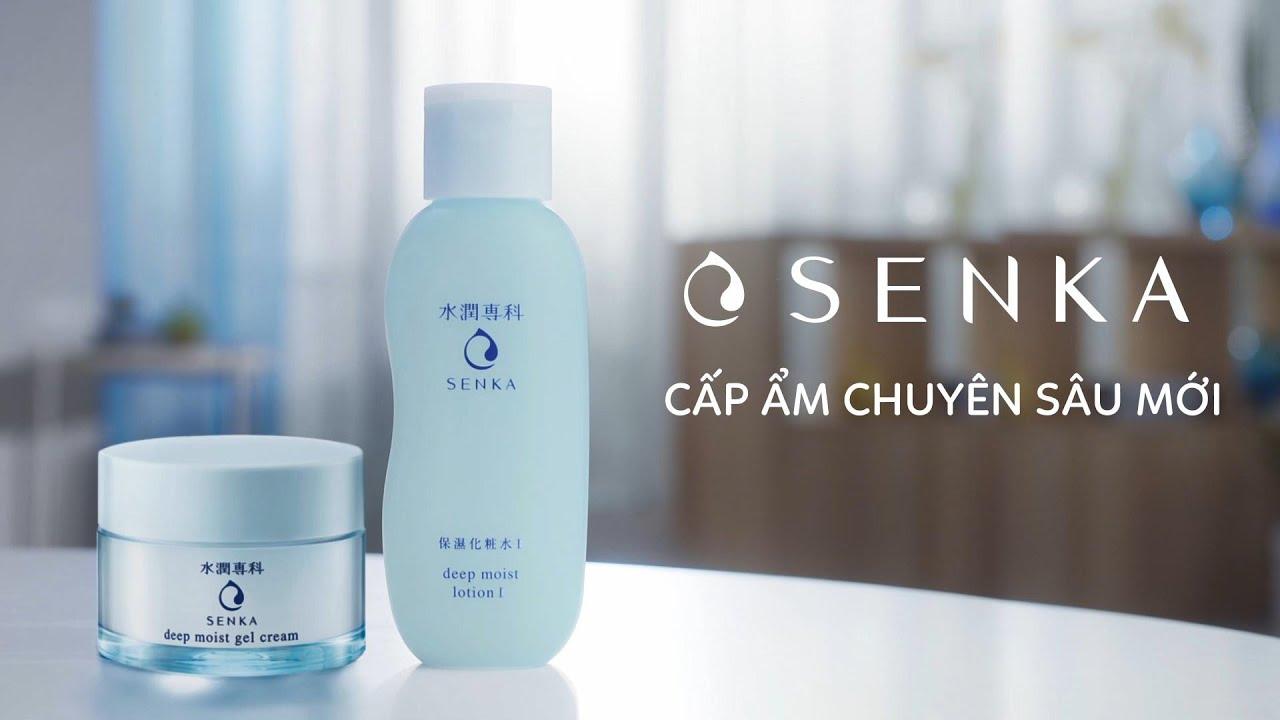 MẶT NẠ NGỦ SENKA | Senka Deep Moist Gel Cream | Dòng Cấp Ẩm Chuyên ...