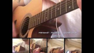 Maroon5 - Animals ( acoustic guitar cover by sellims)
