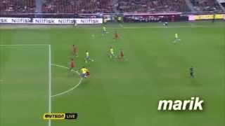 Португалия - Швеция | 1-0 | Гол(ы) и опасные моменты(1-й стыковой матч на ЧМ 2014 моя