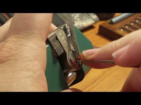 Взлом отмычками ISEO   (437) Iseo Challenge lock