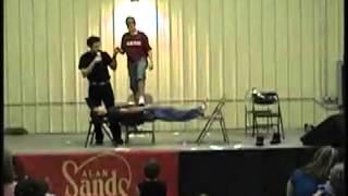 Fairs Demo 2012 - Comedy Hypnotist Alan Sands/The SandMan