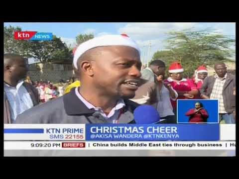Christmas Cheers as Radio Maisha and Nairobi Women Rep visits elderly people in Komarock