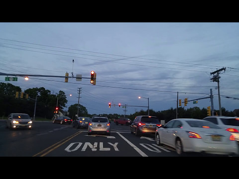 Driving from Freehold to Marlboro,New Jersey
