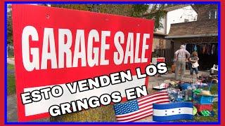 LO QUE SACAN A VENDER LOS GRINGOS🇺🇸 EN LOS GARAGES SALE!! VAMONOS A VER QUE ENCONTRAMOS 🇭🇳💪🏼