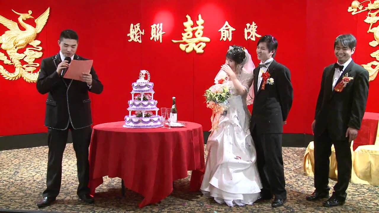 Funny Mc Speeches At Chinese Wedding Reception Toronto Videography