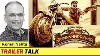 Kannada film 'Avane Srimannarayana' ke trailer ka review | Komal Nahta