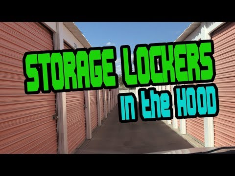 I WON 2 STORAGE AUCTIONS IN THE HOOD