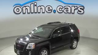 R99733NC Used 2014 GMC Terrain SLT-1 FWD 4D Sport Utility Black Test Drive, Review, For Sale