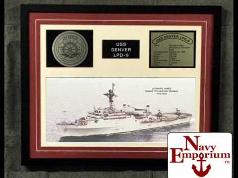 NavyEmporium.com Framed Ship Display