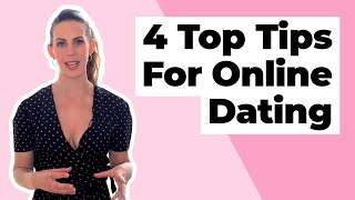 4 Top Tips For Online Dating: From your profile to messaging!