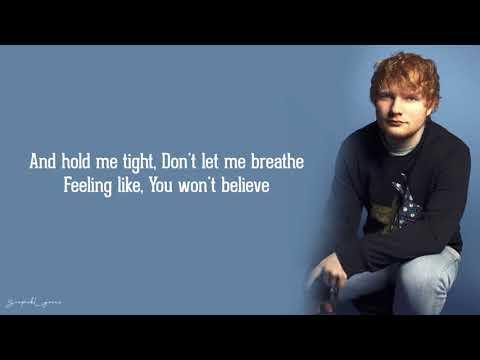 Music video Ed Sheeran - Firefly