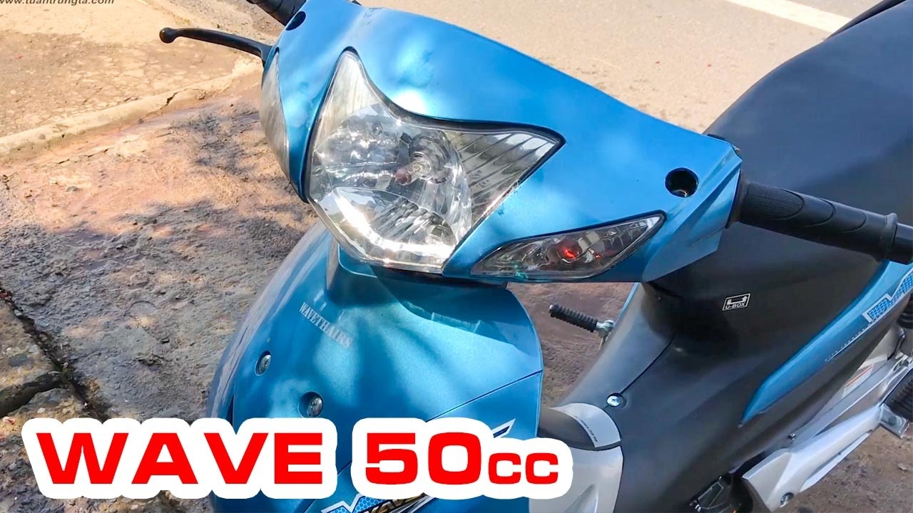 Wave 50cc Kiểu Honda Wave 110cc 2017 ▶ Đánh giá xe dành cho Học sinh