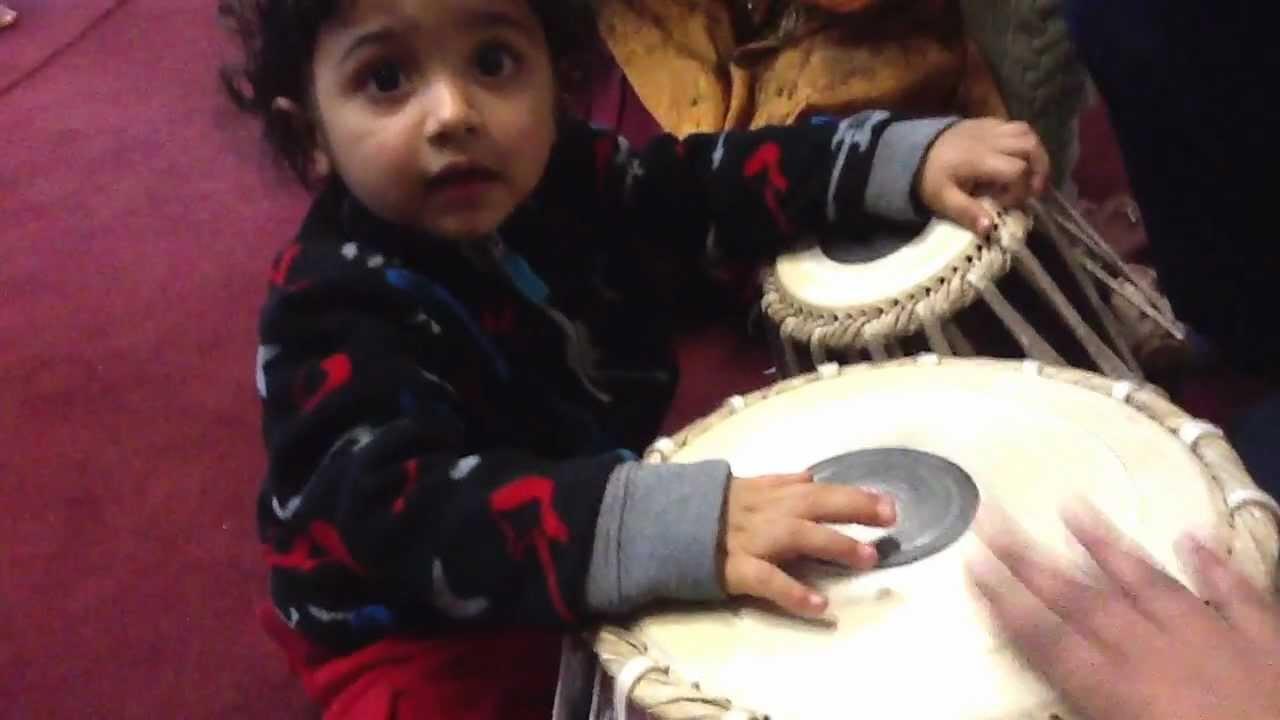 Japman singh doing tabla