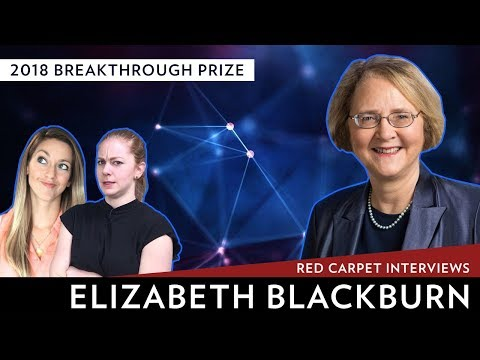 2018 Breakthrough Prize Red Carpet Interviews: Elizabeth Blackburn