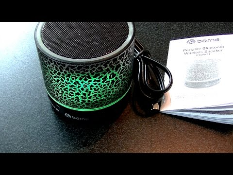 Borne Bluetooth Portable Speaker
