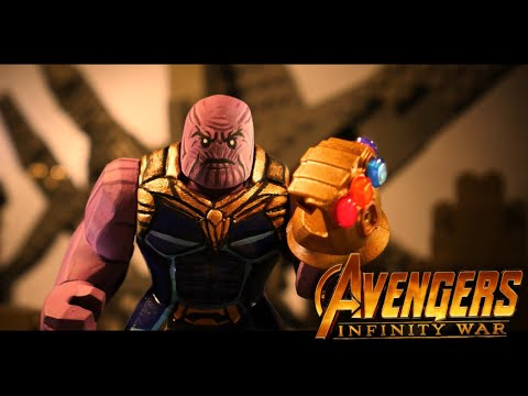 Avengers Infinity War: Iron Man vs Thanos in LEGO