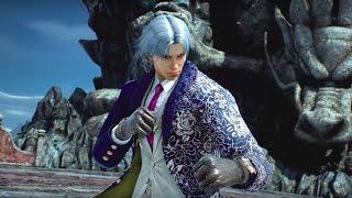 Tekken 7 Official Lee Chaolan/Violet Reveal Trailer - Gamescom 2016