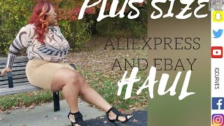 Aliexpress plus sizes haul