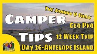 Ep. #620 Our 12 Week Adventure | Day 26: Exploring Antelope Island, UT