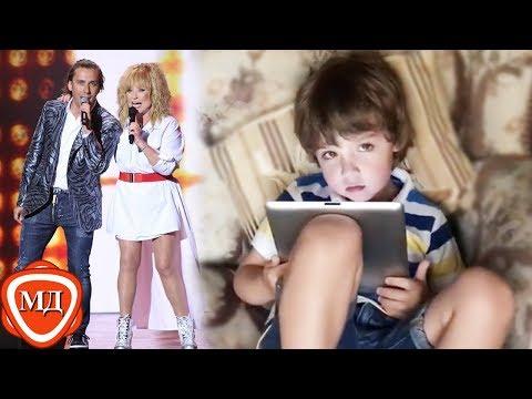 ДЕТИ ПУГАЧЕВОЙ И ГАЛКИНА: Гарри обожает слушать рок, а его родители Пугачева и Галкин обожают петь!