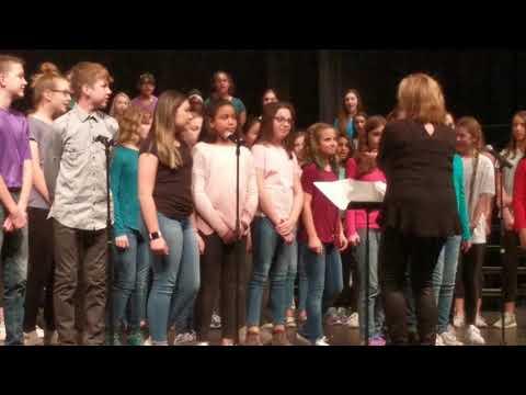 Maize South Middle School 2018 Spring Program 2