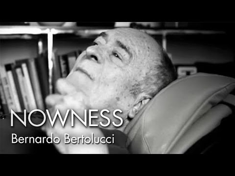 """An Exclusive  with Bernardo Bertolucci"" by Carlo Lavagna and Roberto de Paolis"