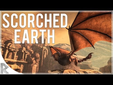 TON OF NEW STUFF! -Ark Survival Evolved Scorched Earth DLC - Part 1(Let's Play Ark Scorched Earth)
