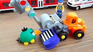 Машинка Каток и Светофор Обзор игрушек машинок Видео для детей про машинки игрушки