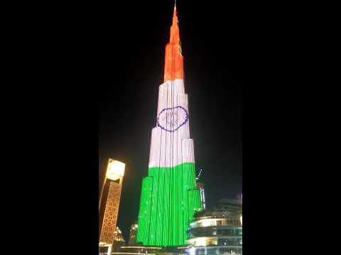 Dubai celebrates India's Republic day