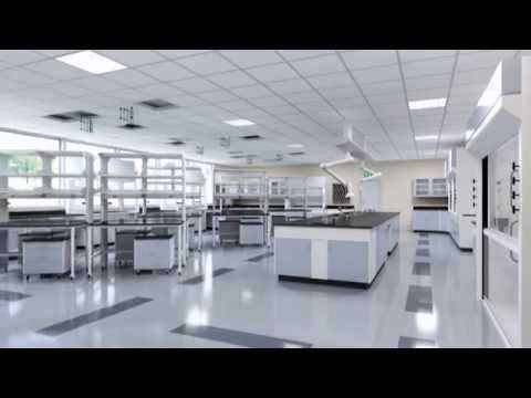 3D Animation of Hamilton Scientific Labs