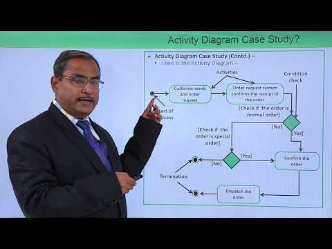 UML - Activity diagram case study