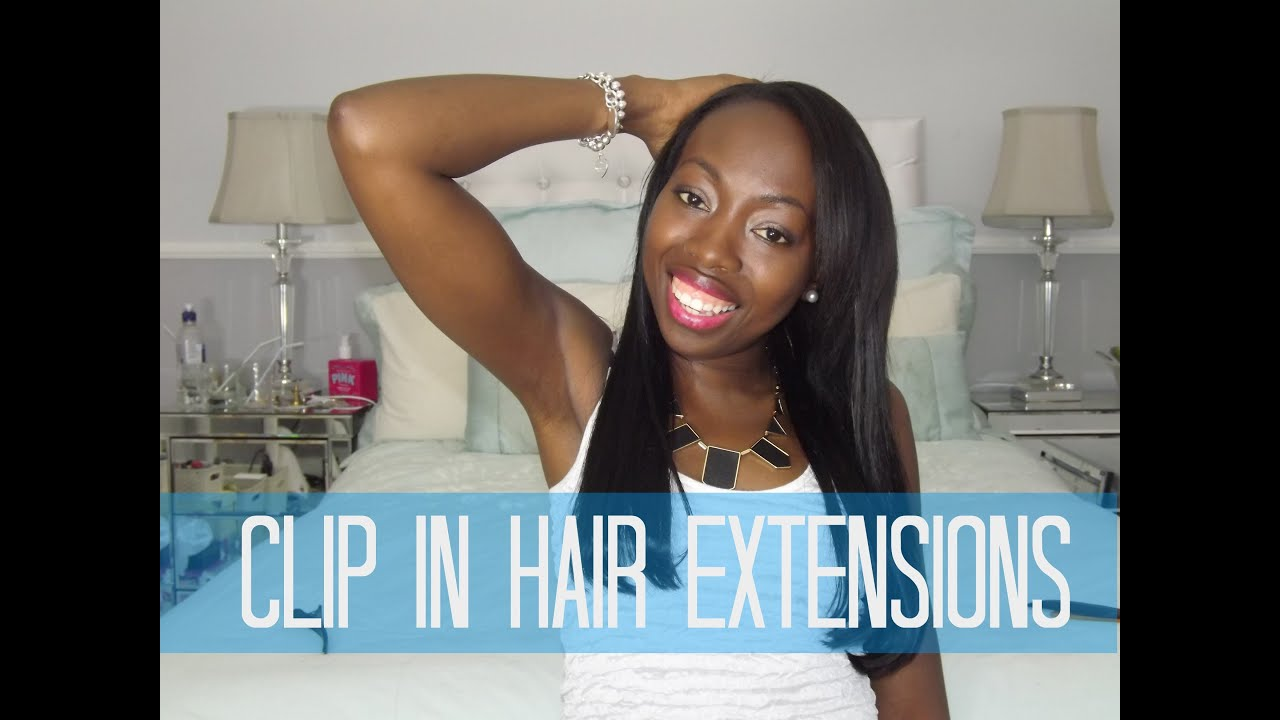 How to clip in hair extensions to relaxed hair youtube how to clip in hair extensions to relaxed hair pmusecretfo Gallery