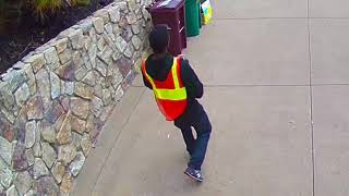 Video [2nd Angle] Amazon delivery driver chucking my package up a floor, missing, then doubling down download MP3, 3GP, MP4, WEBM, AVI, FLV Juni 2018
