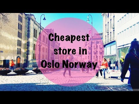 TOP 5 Cheapest Clothes Stores in Oslo, Norway I Cleta D