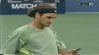 US Open 2002 Roger Federer vs Xavier Malisse
