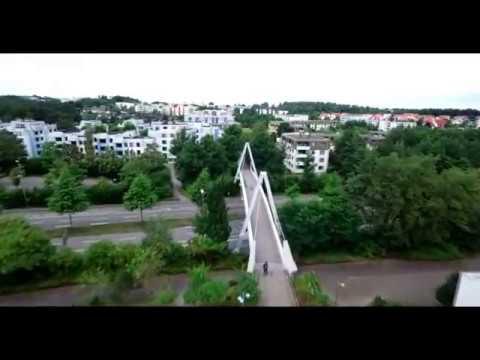 TU Kaiserslautern - Luftaufnahme
