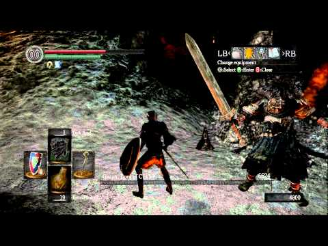 Dark Souls with dark magic/INT build is easy mode  It is