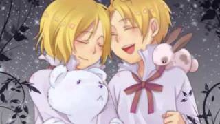Hetalia Lullaby for a Stormy Night