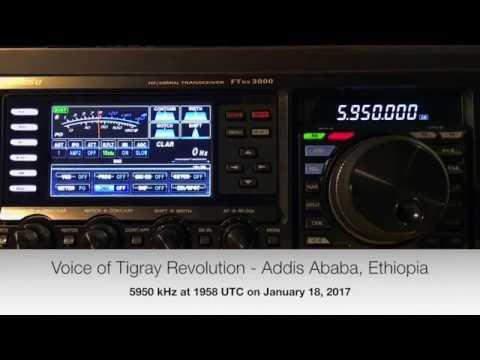 Voice of Tigray Revolution   5950 kHz January 18, 2017