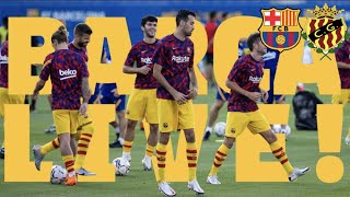 ⚽ BARÇA LIVE | Barça - Gimnàstic | WARM UP & PRE MATCH