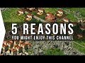 GamerZakh '5 Reasons' YouTube Gaming Channel Trailer!