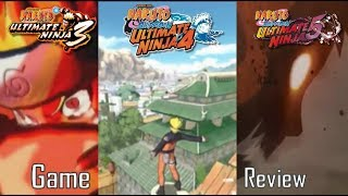 Naruto: Ultimate Ninja 3, 4 and 5 (PS2) Game Review