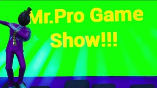 Mr.Pro Game Show Trailer