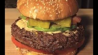 Juicy Lucy Cheese Burger My Way!