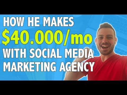 Here's How YOU Can Build $40.000/mo Social Media Marketing Agency (ALL SECRETS REVEALED)