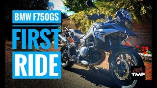 2018 BMW F750GS Review