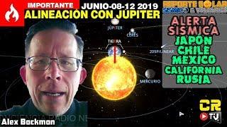 (((ALERTA SÍSMICA))) MEXICO JAPÓN CHILE CALIFORNIA X ALINEACIÓN PLANETARIA JUN 08 2019  - ALEX BACKM