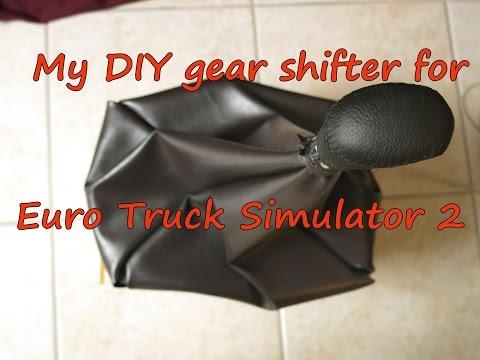 DIY H-pattern Gear Shifter For Euro Truck Simulator 2