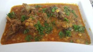 Chana Dal Gosht - Home Style - Zahida Cooking